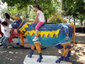 Cow parade in Belgrade